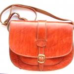 """Кожаная сумка-портфель  """"Big Batha """" ."""