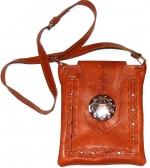 """Кожаная сумка  """"Sala """" Марокко."""
